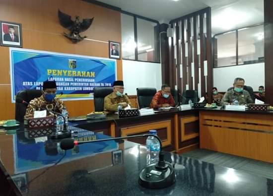 Kabupaten Lombok Timur Raih WTP Ke Empat Kalinya