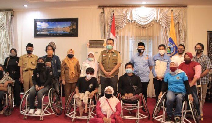 Dukung Basket Lombok Difabel, Gubernur NTB Beri Kursi Roda Khusus