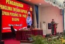 Panglima TNI dan Kapolri Tinjau Vaksinasi Anggota