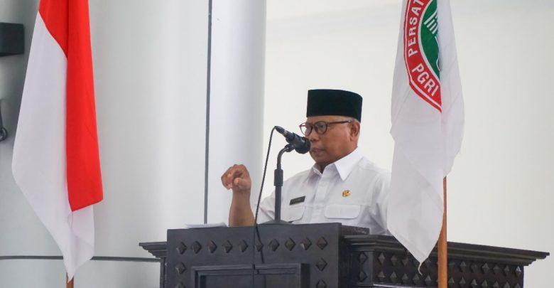 Bupati Buka Raker PGRI Lombok Timur