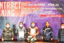 ITDC Tandatangani Kontrak Pembangunan Infrastruktur KEK Mandalika