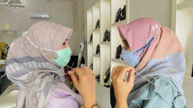 Aksesoris Masker Hidupkan UMKM Mutiara di Mataram