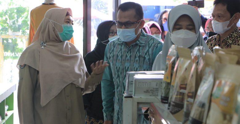 Launching Gallery Kampoeng UMKM NTB