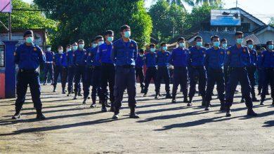 Dinas Pemadam Kebakaran dan Penyelematan (Damkar) ke 102.
