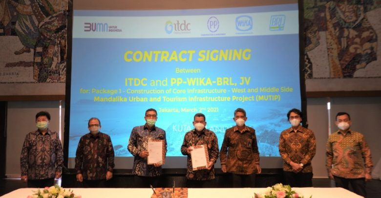 ITDC teken Kontrak Baru