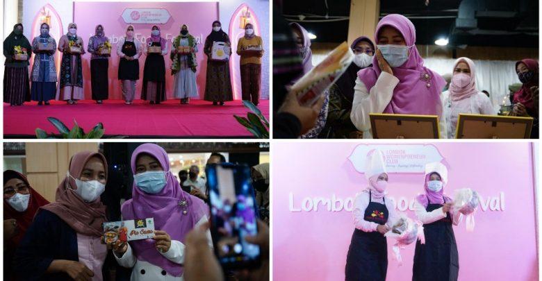 Lombok Food Festival 2021 Hj. Niken Dorong Semangat Enterpreneur Perempuan