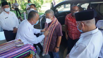Bupati Lotim Terima Rombongan Gubernur Sulbar di BLK Lombok Timur
