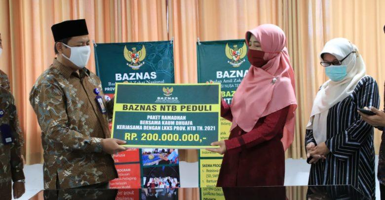 Baznas dan LKKS NTB Kerjasama Kelola Dana Ummat