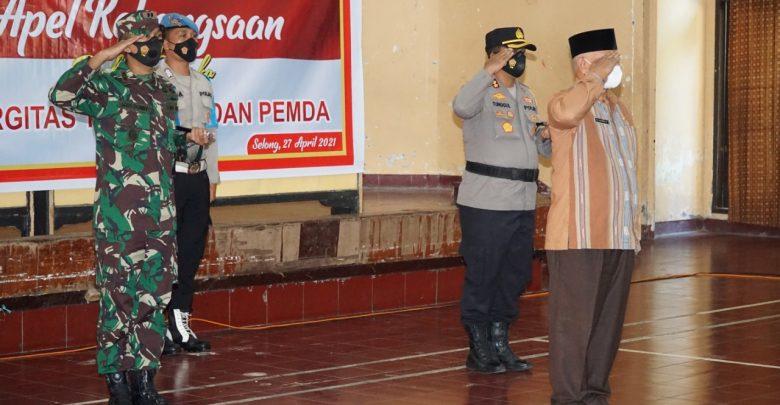 Bupati Hadiri Apel Kebangsaan, Sinergitas TNI, Polri dan Pemda