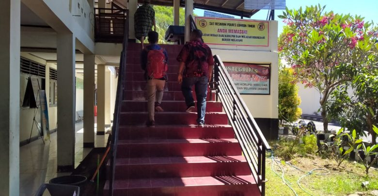 Oknum Pol-PP Lotim Penganiaya Wartawan Akhirnya Dilaporkan ke Polisi