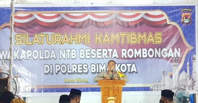 Silaturrahmi Wakapolda NTB ke Mako Polres Bima Kota