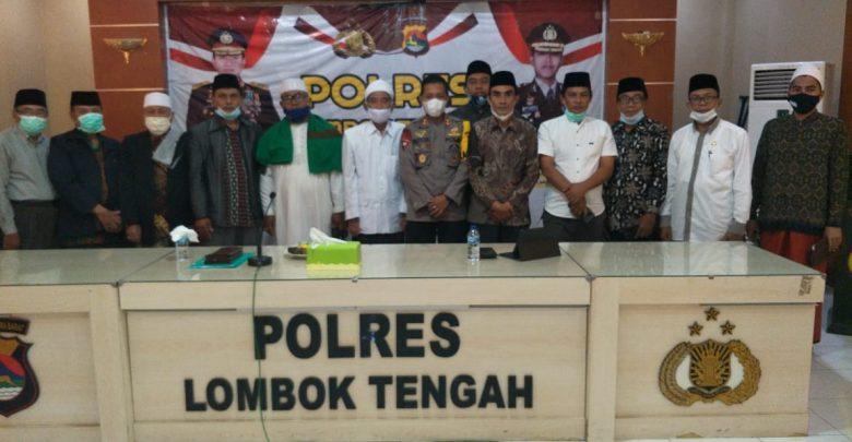 Kapolres Loteng Silaturahmi Dengan MUI dan FKUB