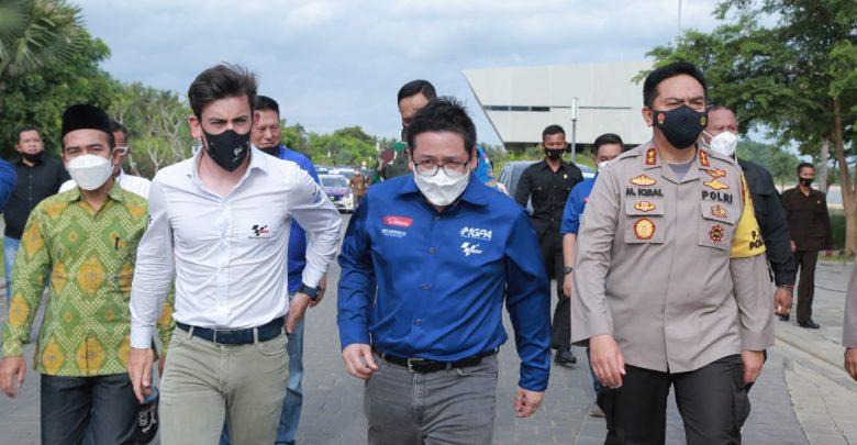 Kapolda NTB dan Gubernur NTB Dampingi Rombongan dari Dorna Sports