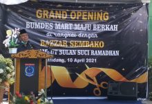 Desa Midang Gandeng FKSM NTB Launching BUMDes Mart
