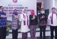 Hj. Niken Dilantik Jadi Ketua PPI NTB 2021-2026