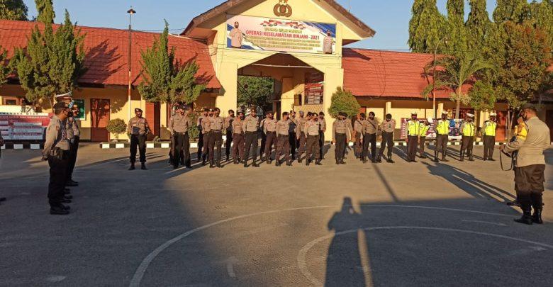 Jelang Pelantikan Bupati Dan Wakil Bupati Terpilih, Polres Sumbawa Gelar Patroli Sekala Besar