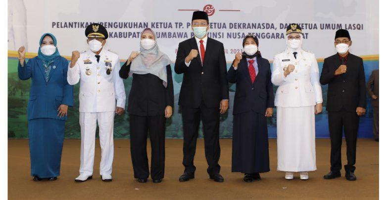 Gubernur NTB Lantik Bupati dan Wakil Bupati Sumbawa