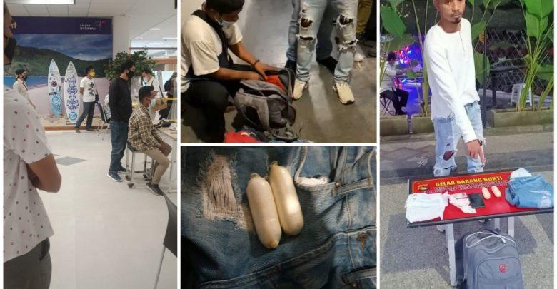 Polisi Menangkap Diduga Pelaku Narkoba Asal Batam di BIL