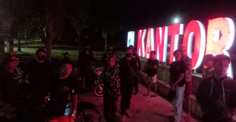 Sinergitas TNI - Polri Tingkatkan Razia di Malam Minggu.