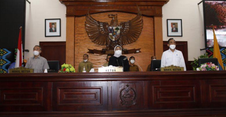 LKPJ Gubernur Tahun 2020 Cukup Memenuhi Syarat Untuk Diterima DPRD