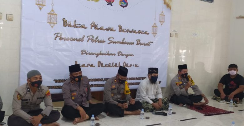 Polres Sumbawa Barat Buka Bersama dan Gelar Malam Nuzulul Qur'an