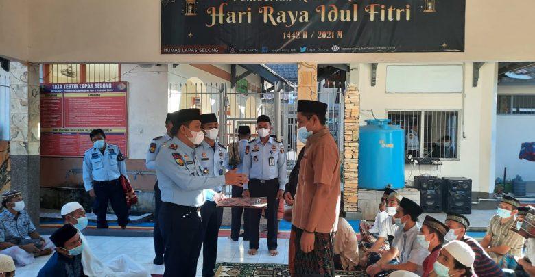 209 Orang Warga Binaan Terima Remisi Khusus Hari Raya Iedul Fitri
