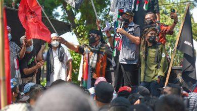 Aksi Bela Palestina, Sekda NTB , Kami Senafas dengan Masyarakat