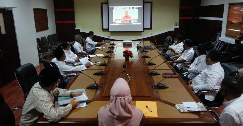 Wakil Gubernur NTB menghadiri Rapat bersama KPK