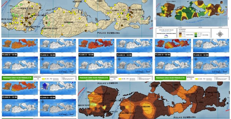 Musim Kemarau Hampir Merata di Wilayah NTB Dasarian 1 Mei 2021