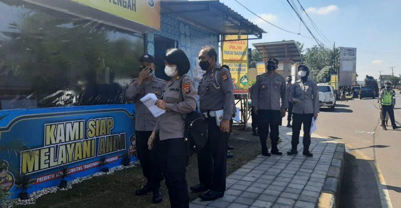 Irwasda Polda NTB Cek Kesiapan Pospam Polres Loteng