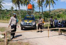 Libur Lebaran, Polsek Sekotong Pantau Lokasi Wisata dan Ziarah Kubur