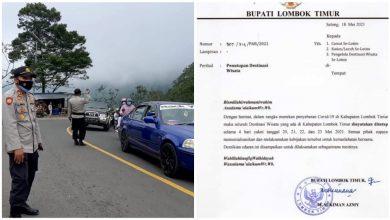 Bupati Terbitkan SE, Kapolsek Sembalun Tutup Lokasi Wisata