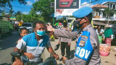 Polsek Pujut rutin gelar Operasi yustisi di Pasar Tradisonal Sengkol