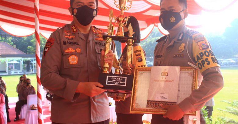 Polresta Mataram Raih Juara Lomba Posko Operasi Ketupat Rinjani 2021