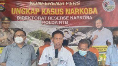 Ditresnarkoba Polda NTB Ungkap Modus Baru Transaksi Narkoba di Lotim