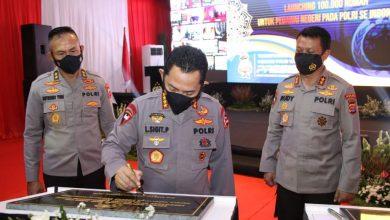 Kapolri Resmikan Gedung Presisi Polres Kota Tangerang