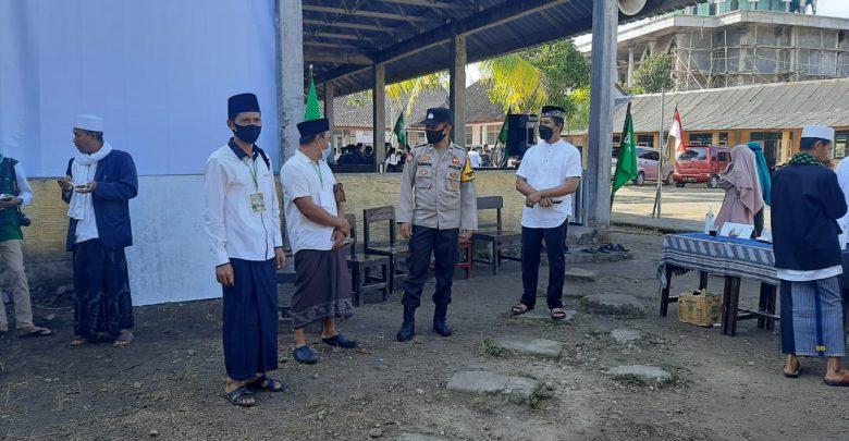 Polsek Pringgarata Amankan Rapat Kerja MWCNU