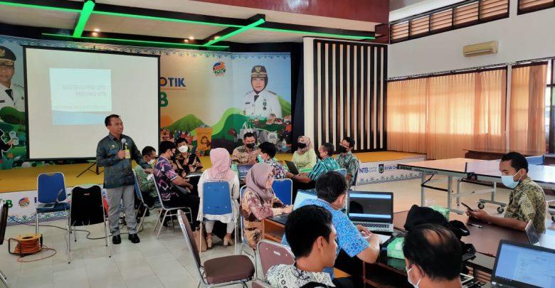 Kadis Kominfotik NTB, Targetkan 100 Persen Badan Publik NTB Informatif