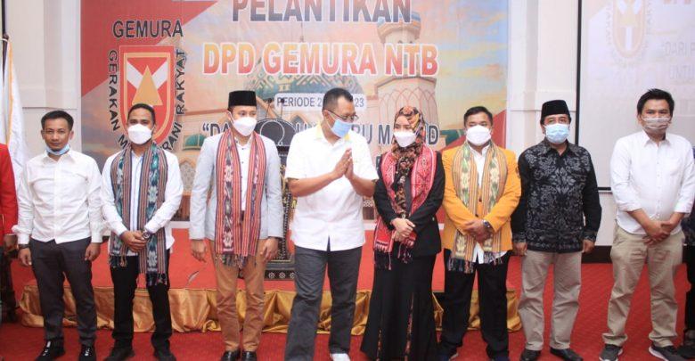 Gubernur NTB Hadiri Pelantikan Pengurus DPD Gemura NTB