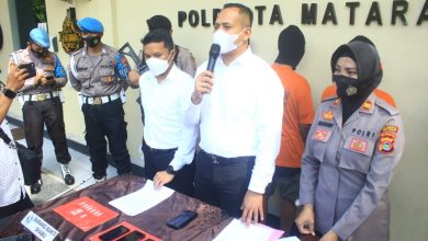 Oknum ASN Lombok Utara Ditangkap Tangan Diduga Edarkan Sabu