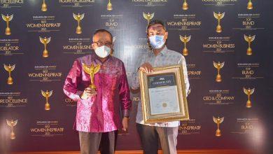 Gubernur NTB Raih Anugerah Best Inspiring Tourism Initative