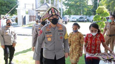Kapolda NTB Hadiri Peringatan Hari Pancasila Oleh Mahasiswa Papua