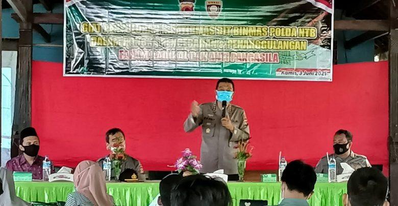 Direktorat Pembinaan Masyarakat Polda NTB Gelar Penyuluhan