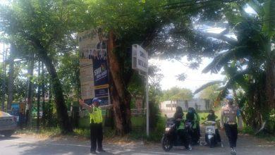 Patroli Sekolah, Polres Lobar Lakukan Pendekatan Antisipasi Kerumunan