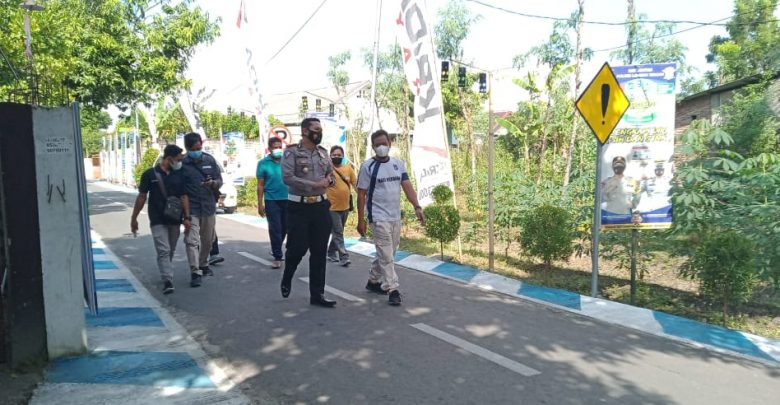 Satlantas Polres Loteng Tinjau Lokasi Kampoeng Tertib Lalu Lintas