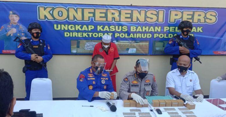Ditpolair Baharkam Polri dan Polda NTB Amankan 1200 Detonator Bahan Peledak