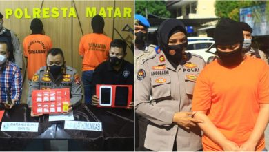 Polresta Mataram Bongkar Sindikat Peredaran Sabu