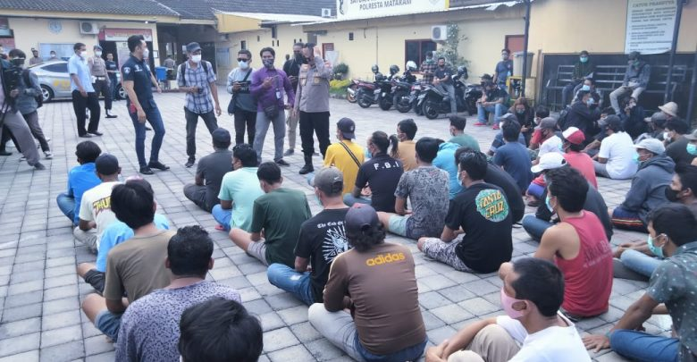 Polresta Mataram, Tangkap 86 Orang Terlibat Aksi Premanisme