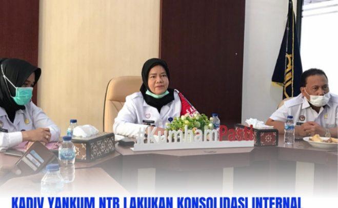 Pelayanan Hukum dan HAM Kantor Wilayah Provinsi NTB