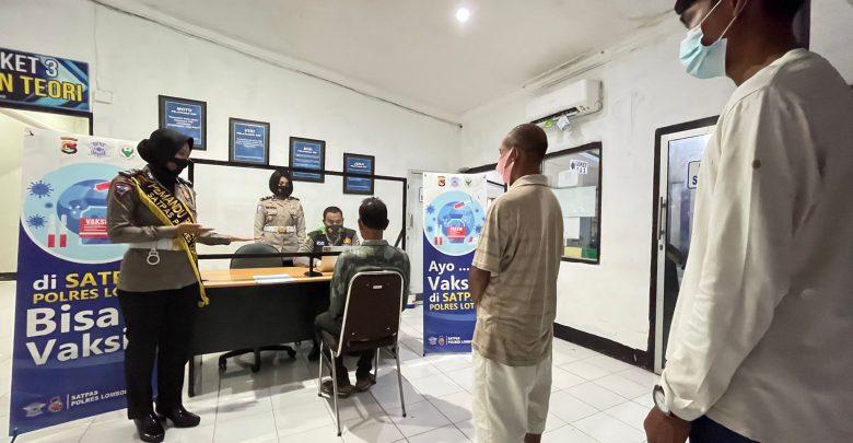 Kasat Lantas di Lotim, Rita Tambahkan Fasilitas Vaksin di Layanan SIM